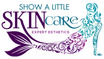New show a little skincare logo